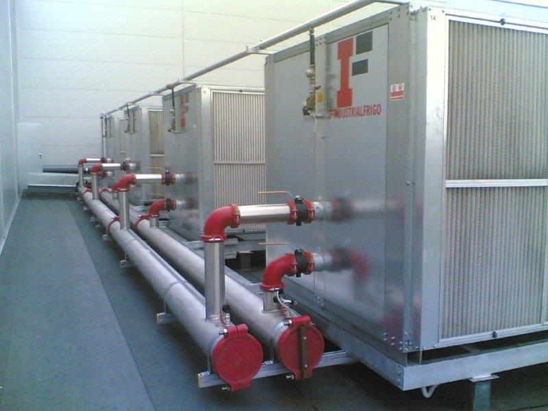 Unidade de água gelada chiller