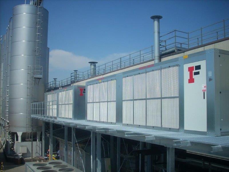Unidade de refrigeração de água