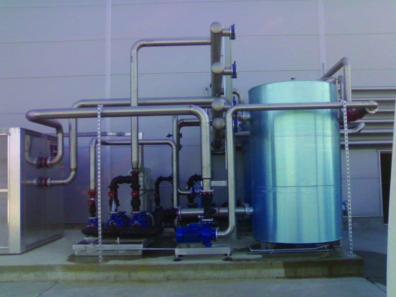 Projeto de refrigeração industrial